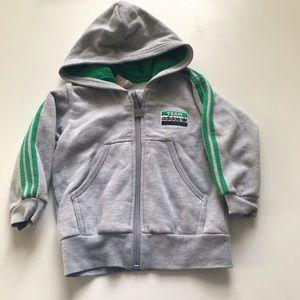 Adidas hoodie size 18-24m